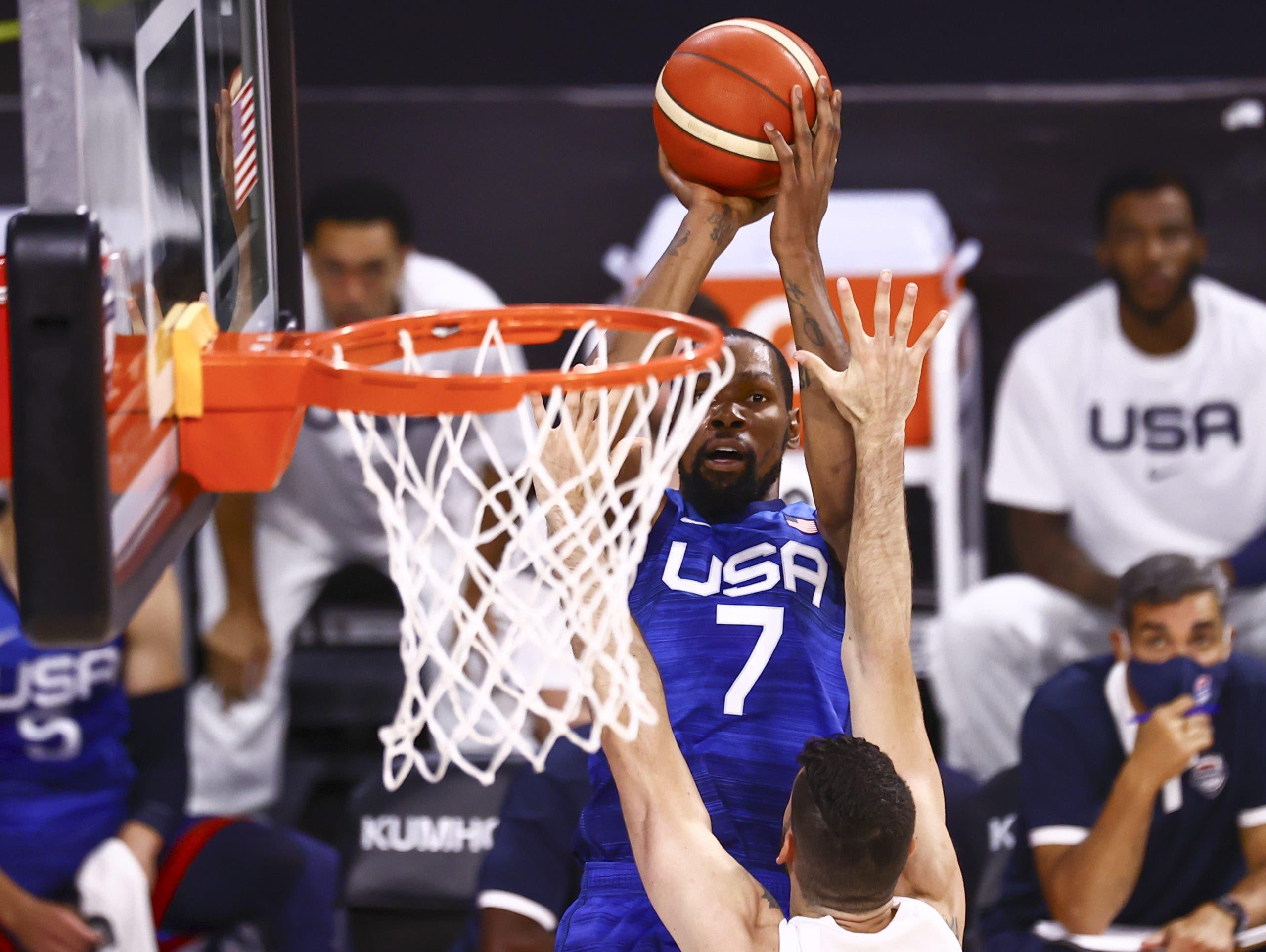 108-80. Durant y Beal lideran la demoledora exhibición sobre Argentina