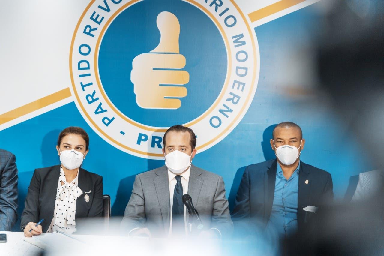 PRM escoge otra vez a Estrella y Pacheco para presidencias Senado y Diputados