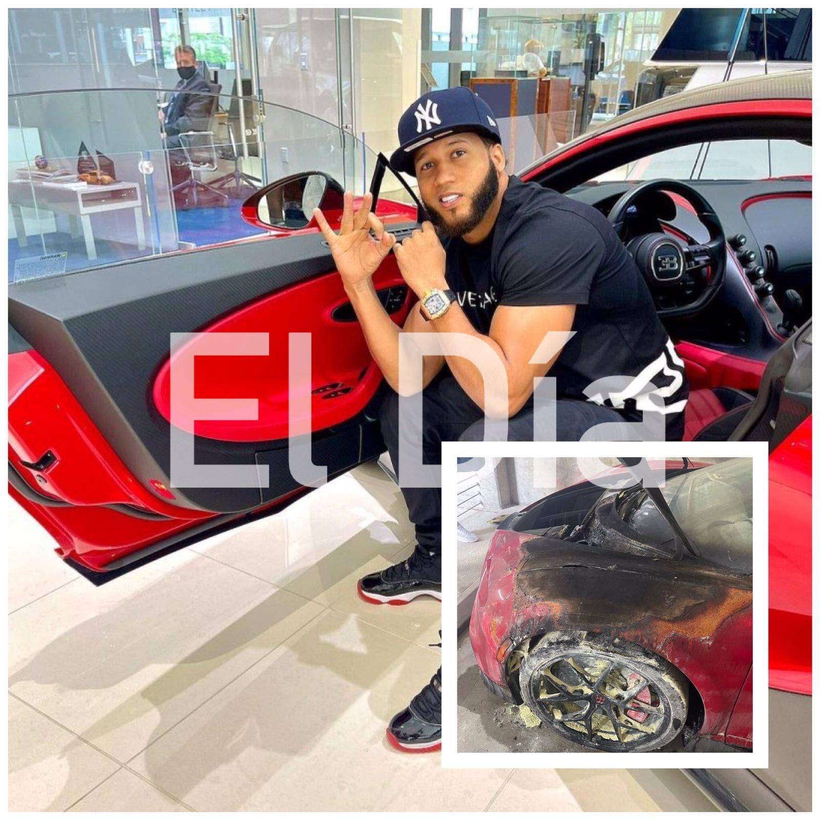 El Alfa acusa a «Bibi the Boss» por la quema de su Bugatti