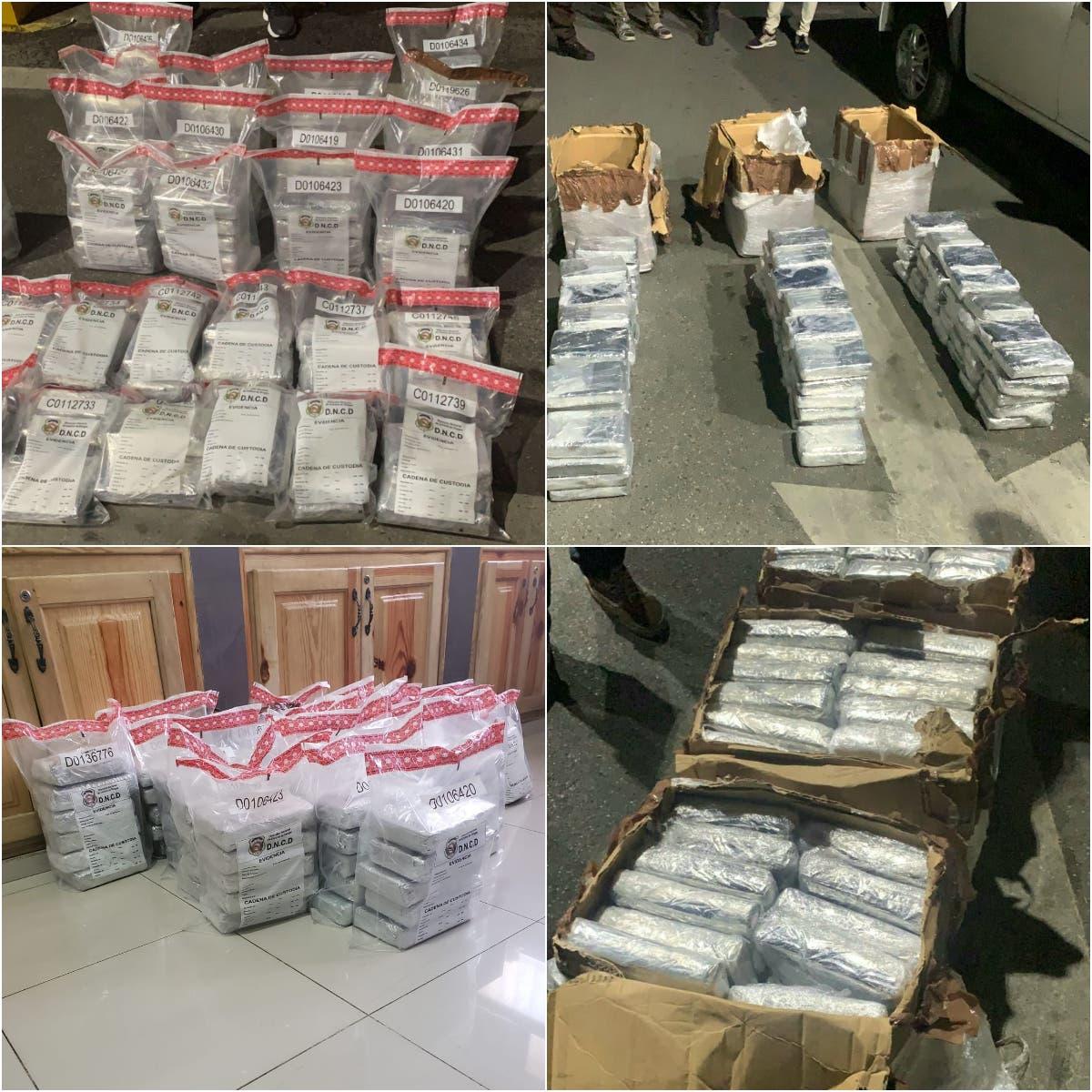 Apresan tres y ocupan 100 paquetes de cocaína en Puerto de Haina