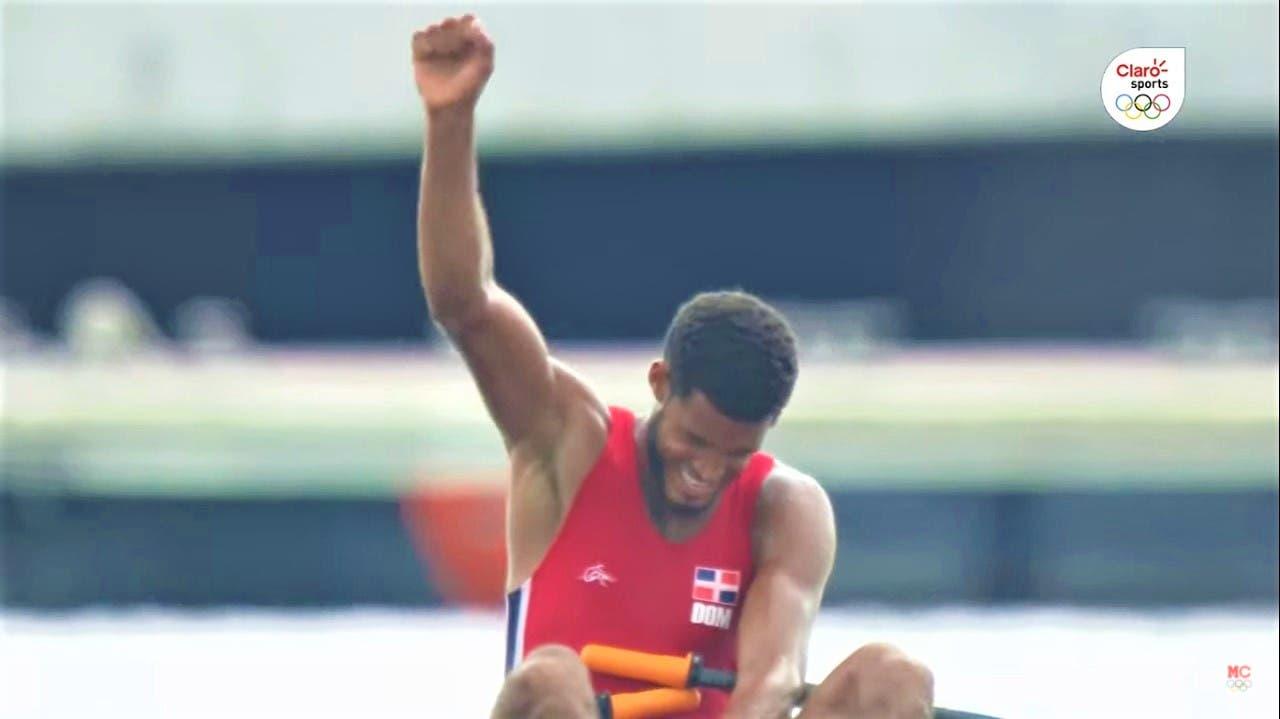 Dominicano Ignacio Vásquez finaliza participación olímpica de remo en el puesto 25