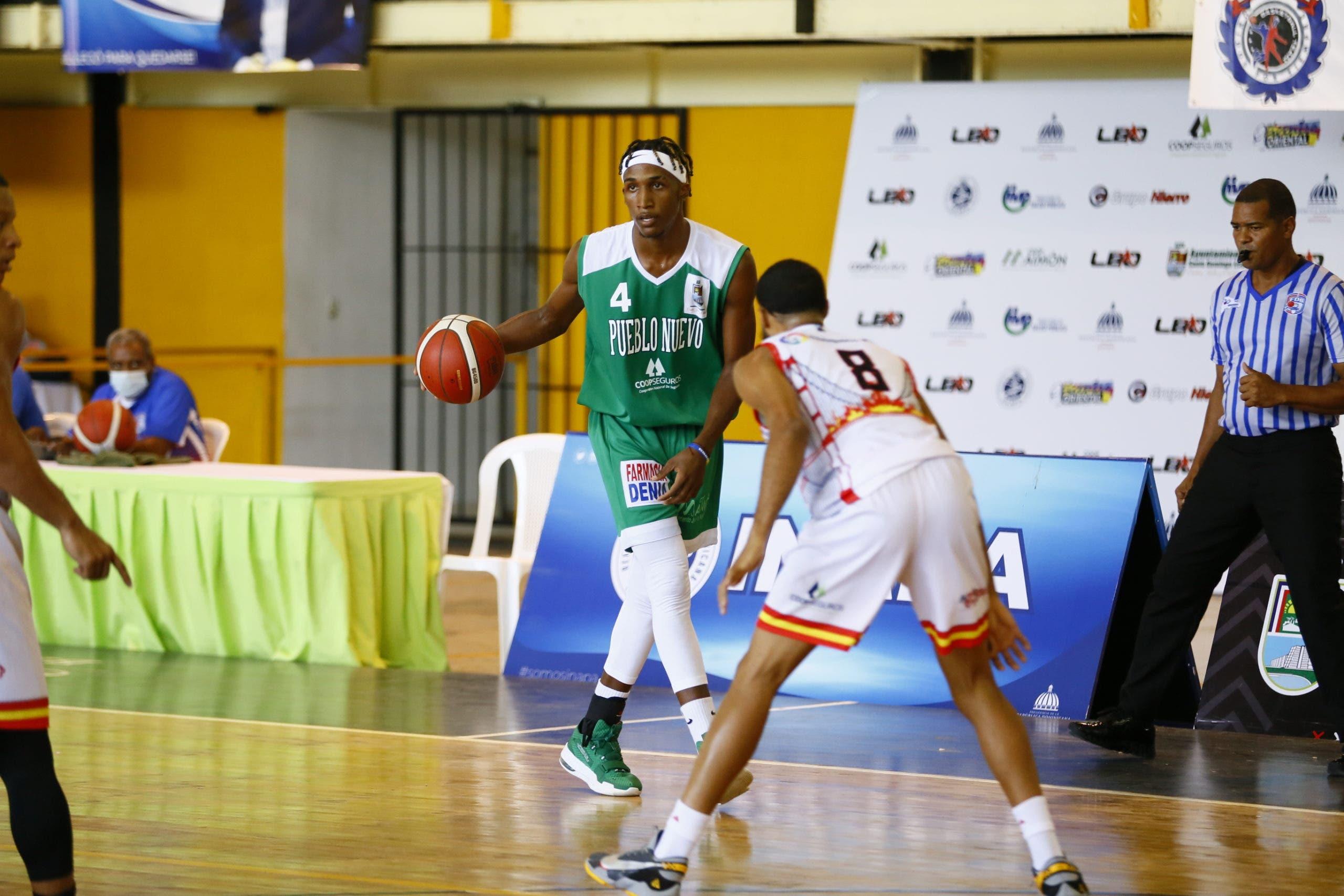 Club Pueblo Nuevo escala el segundo lugar torneo basket de SDE; Los Frailes se imponen
