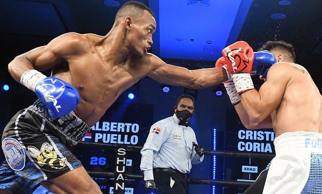 Puello retiene el título superligero y Rosa gana el cinturón mínimo de la AMB
