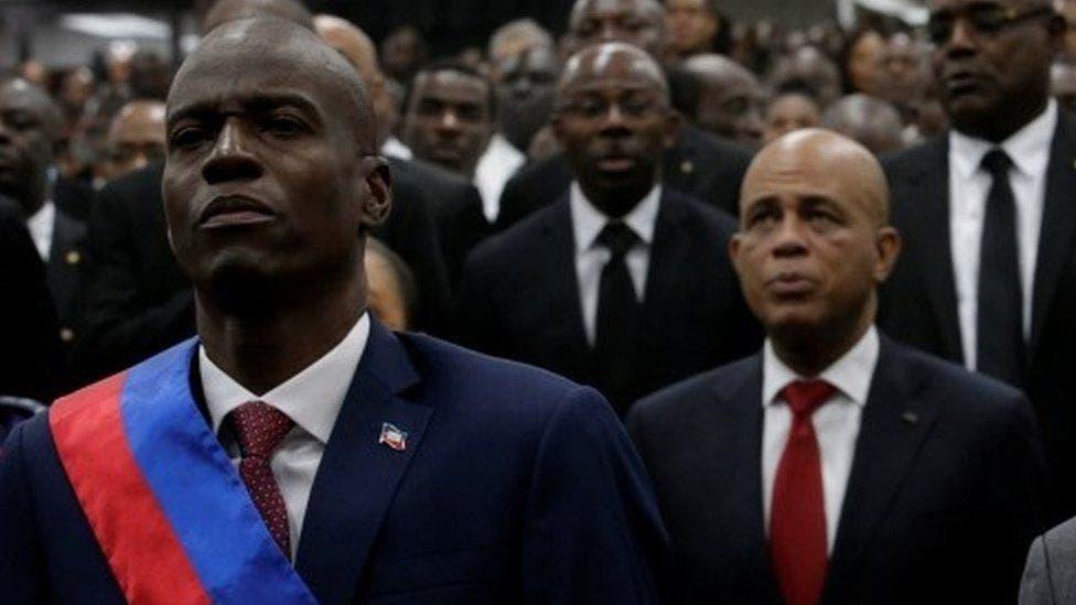 Martelly califica asesinato de Jovenel como un duro  golpe a la democracia