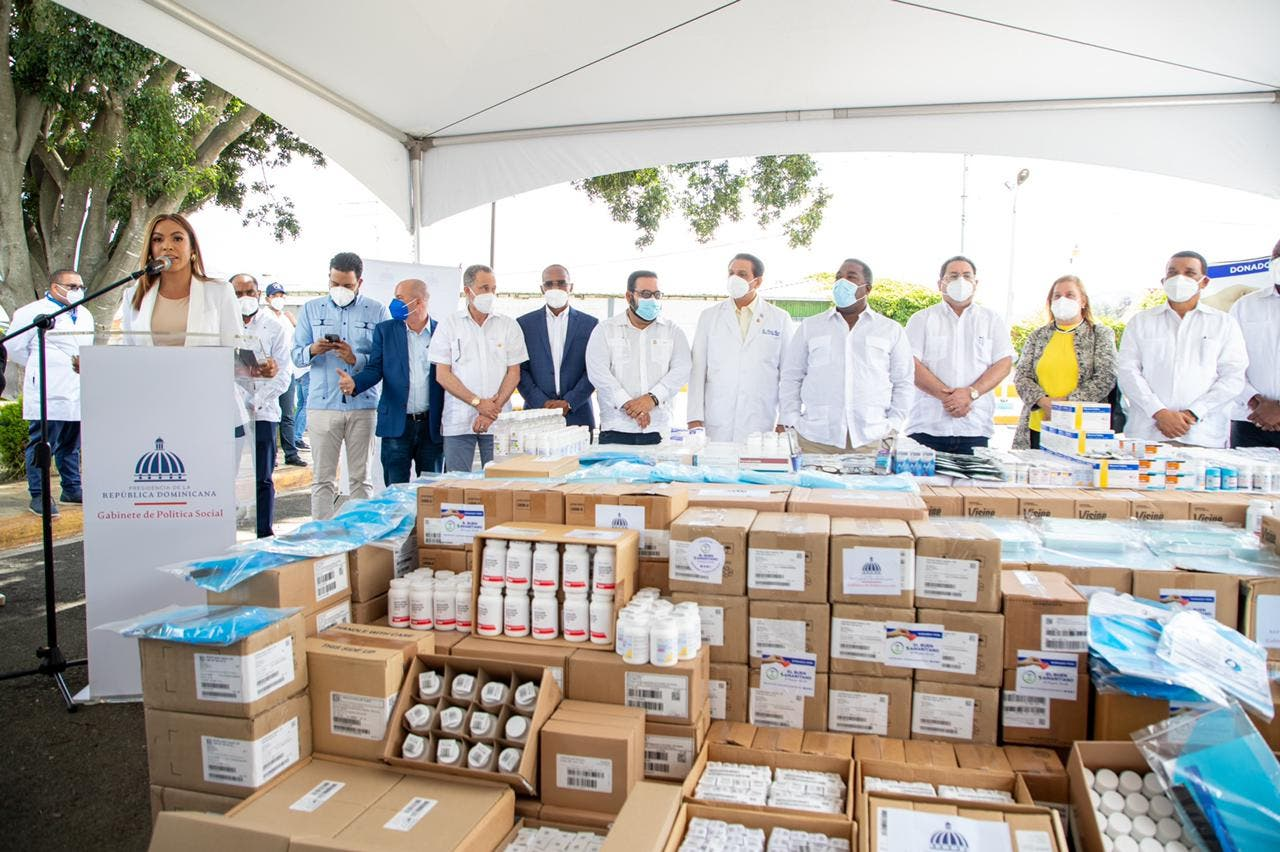 Gabinete de Política Social canaliza más de 40 millones de pesos en medicamentos e insumos médicos