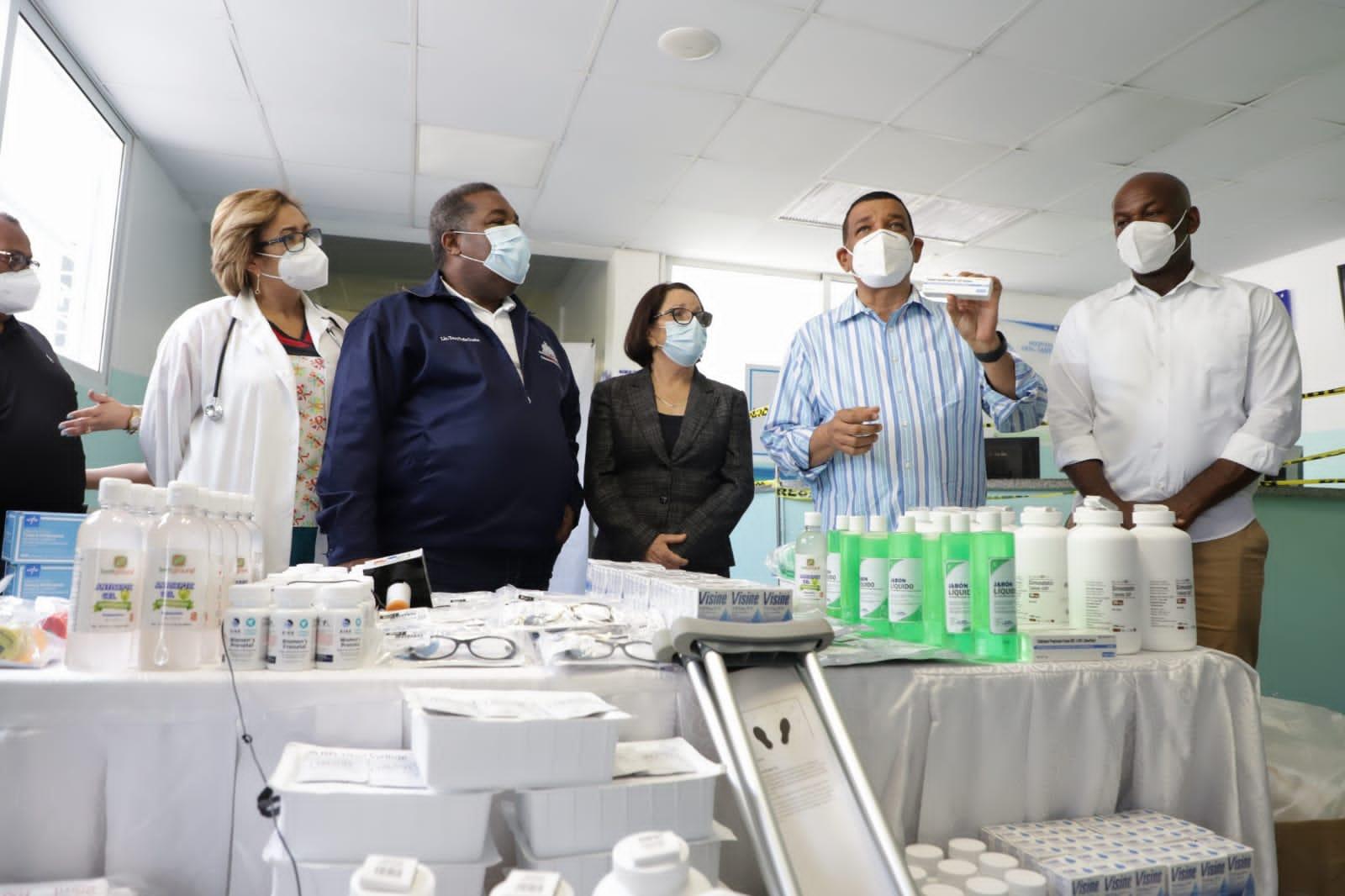 Política Social canaliza donación RD$30 millones hospitales Montecristi y Santiago Rodríguez