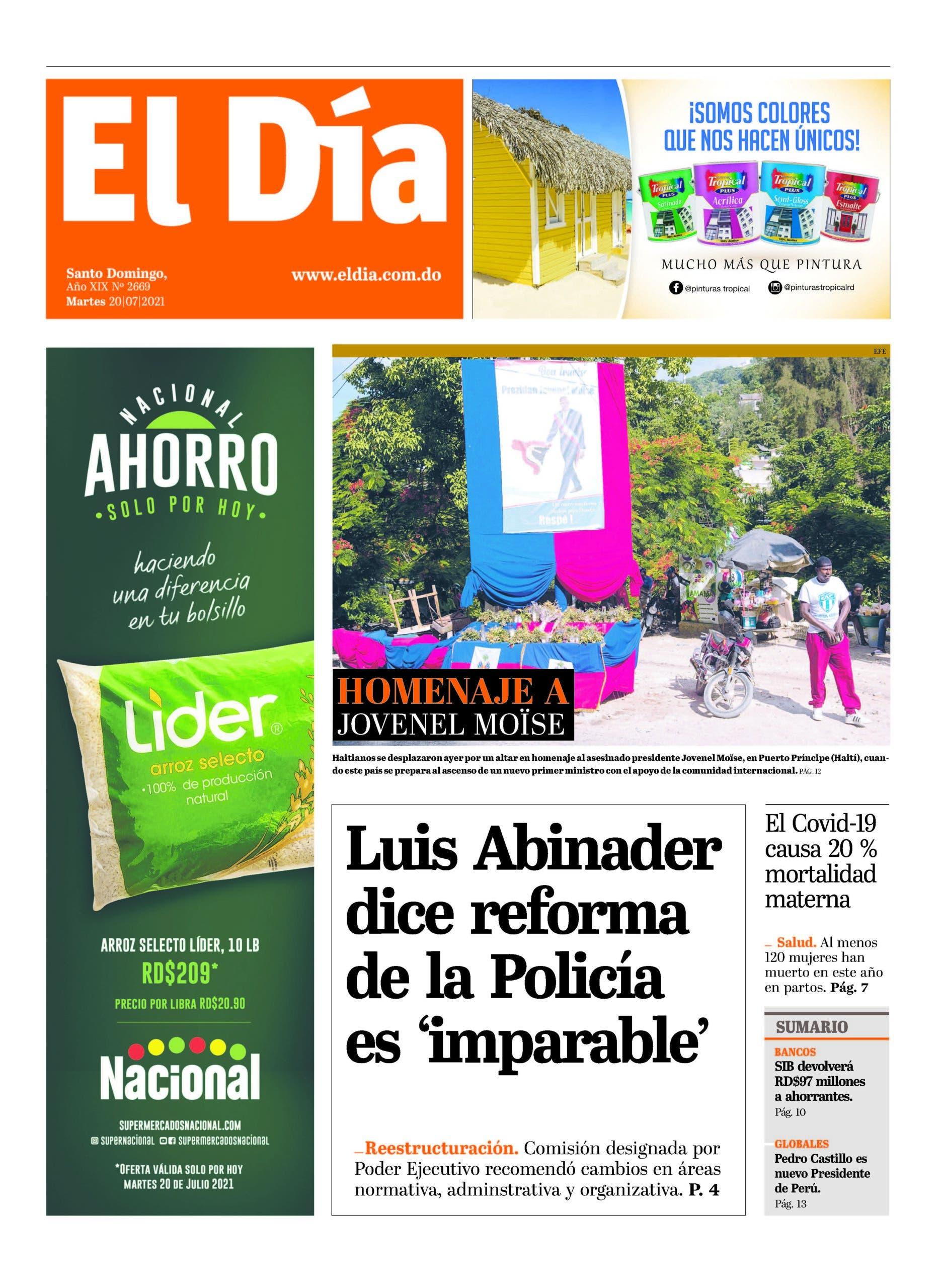 Edición impresa 20-7-2021