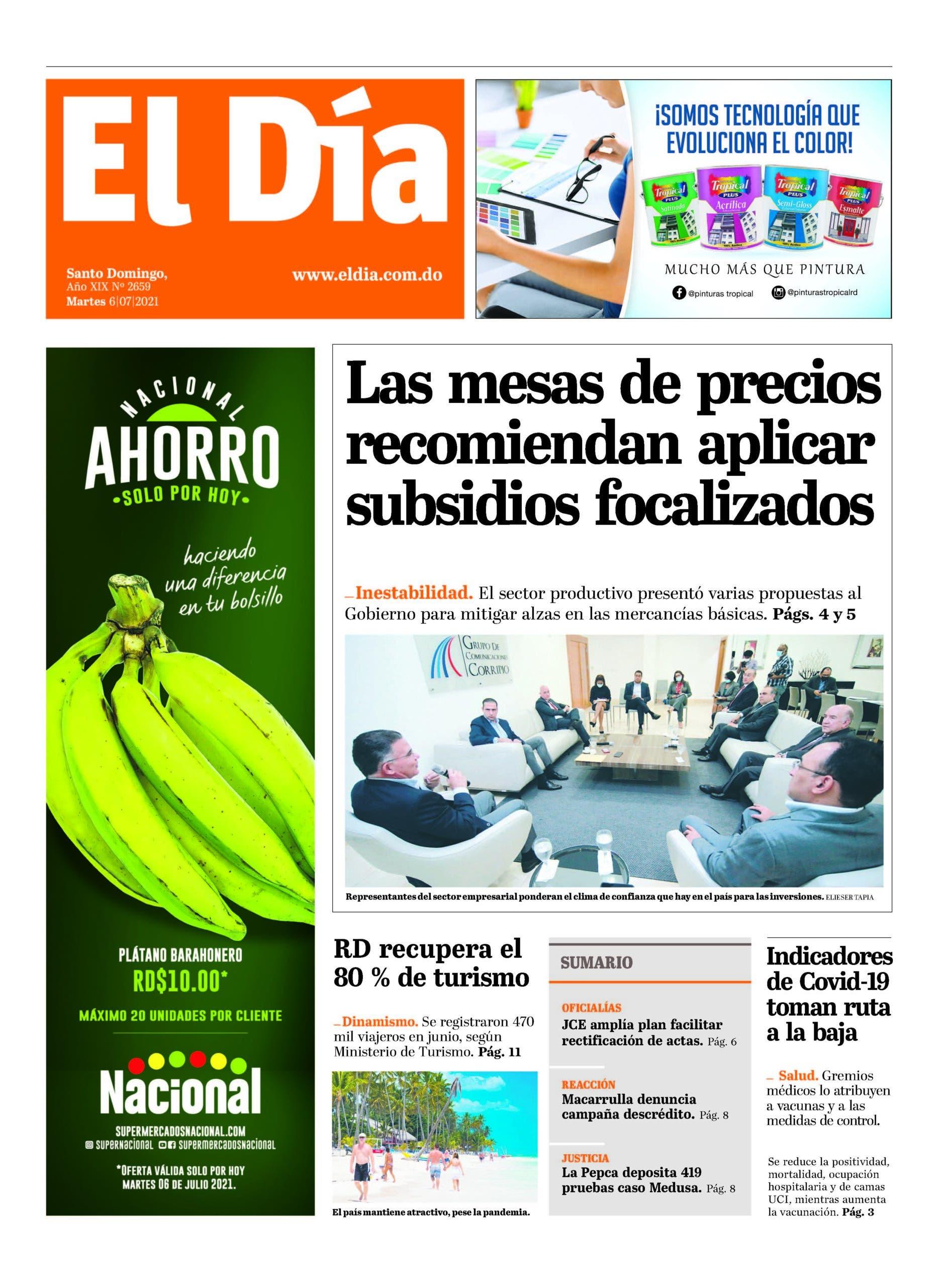 Edición impresa 6-7-2021
