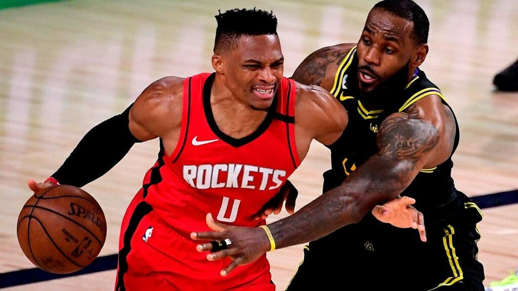 Los Lakers reúnen a Russell Westbrook con LeBron James y Anthony Davis