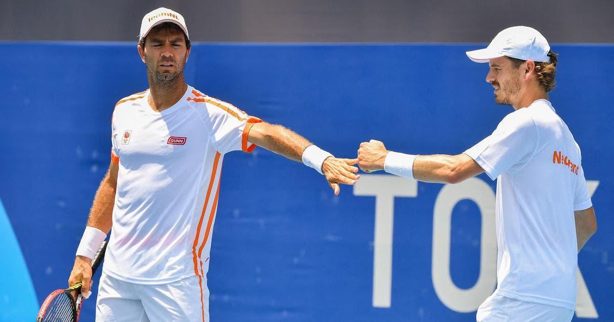 Cuarto positivo en el equipo de Países Bajos deja fuera a su pareja de dobles