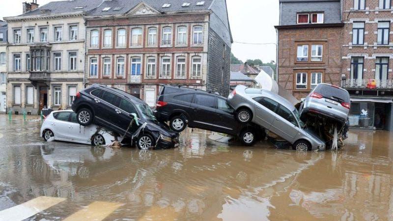 Inundaciones en Alemania: las impresionantes fotos tras las fuertes lluvias en Europa que dejan decenas de muertos
