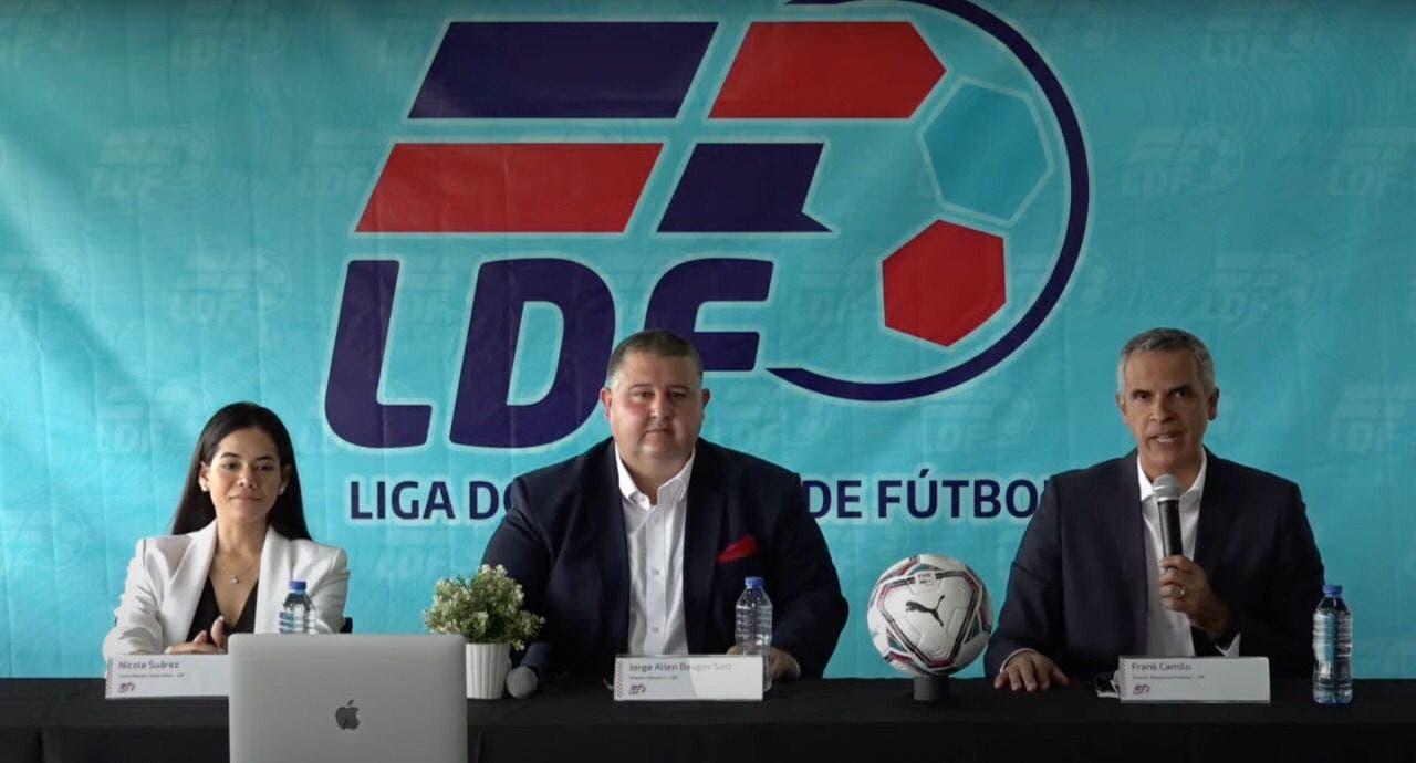 La Liga Dominicana de fútbol relanza página web