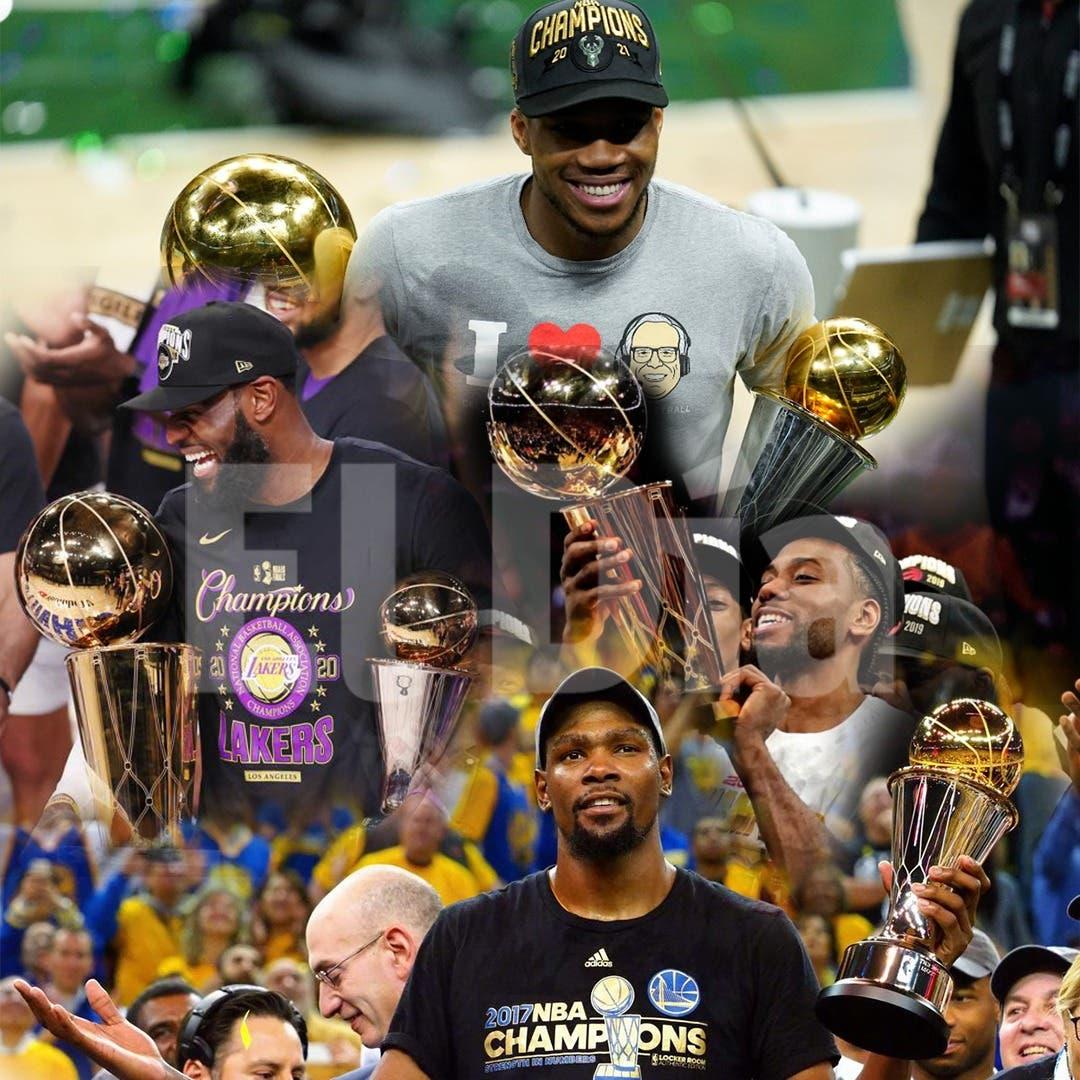 Lista de los Jugadores Más Valiosos de las Finales de la NBA