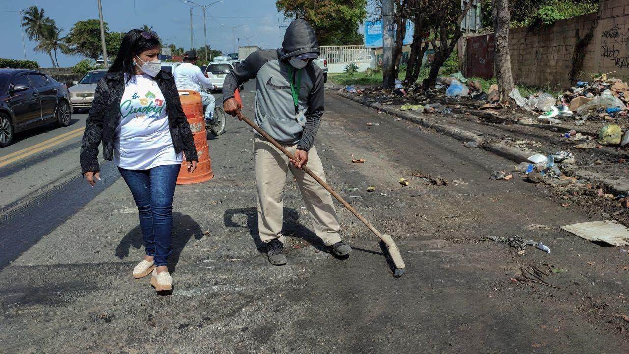 Ayuntamiento y el Gobierno han eliminado 23 vertederos improvisados en Santo Domingo Este
