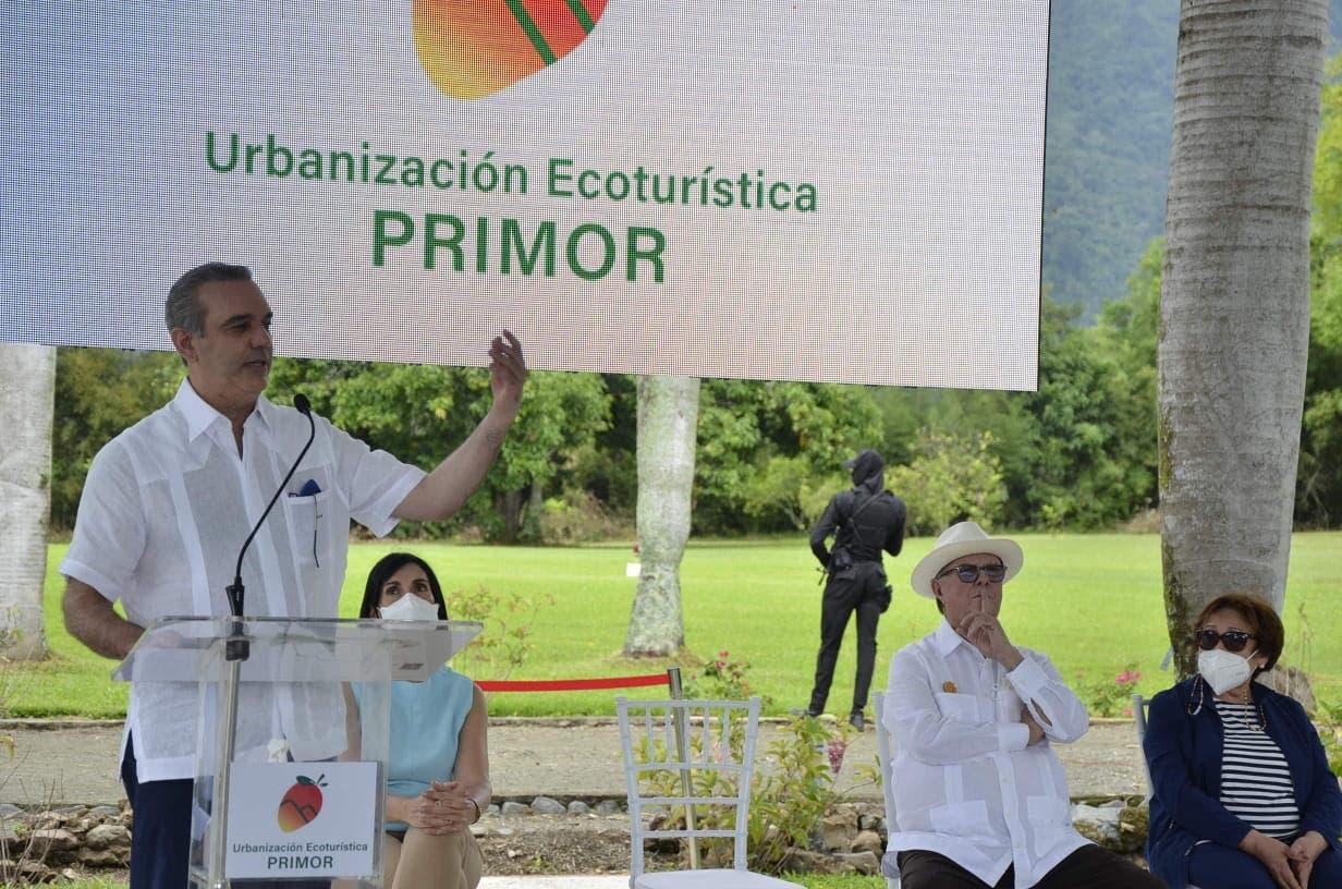 Presidente Abinader encabeza lanzamiento urbanización ecoturístico en Jarabacoa
