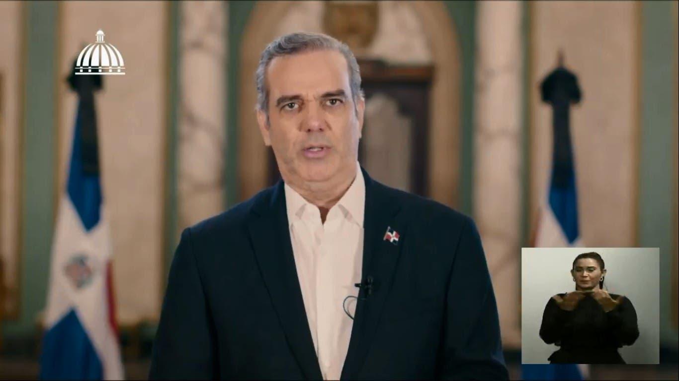 Discurso íntegro del presidente Luis Abinader sobre la reforma fiscal