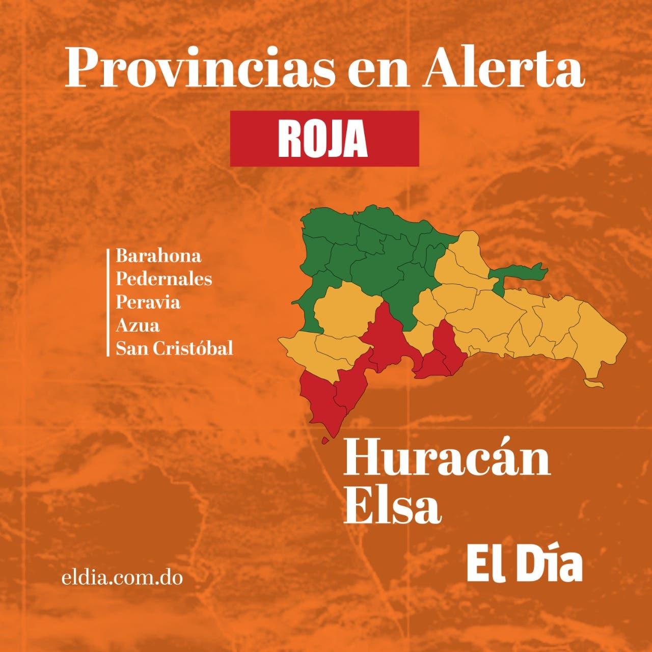 El país bajo alerta ante el posible paso del huracán Elsa