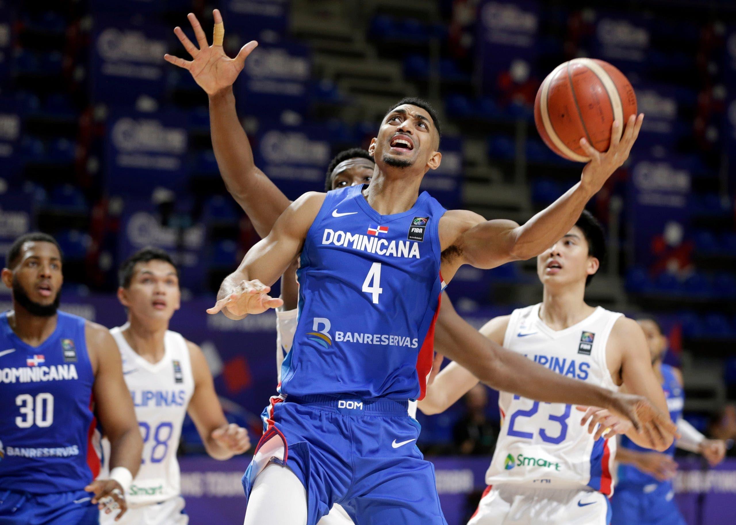 Selección basket RD apabulla a Filipinas y pasa a la semifinal del preolímpico