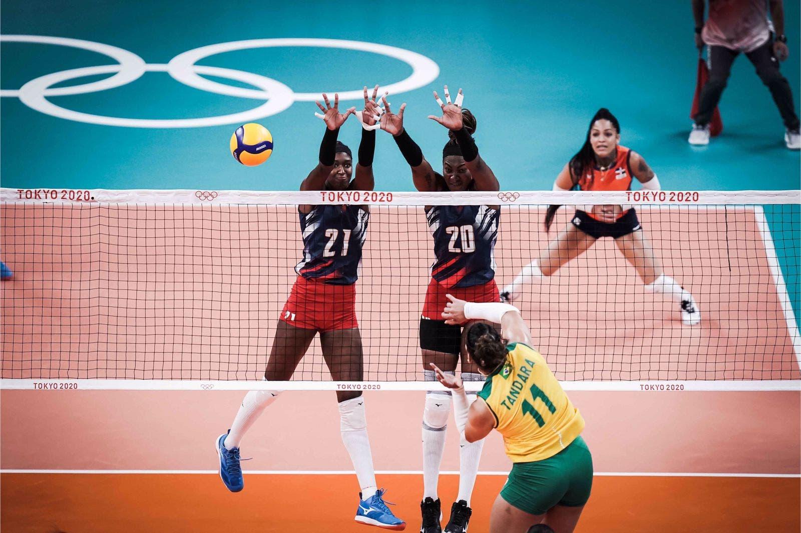 Las Reinas del Caribe caen 3-2 ante Brasil en Juegos Olímpicos
