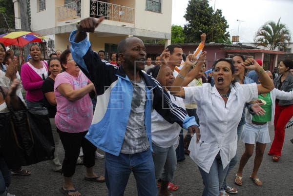 Cientos de manifestantes toman la calle en La Habana al grito de «libertad»