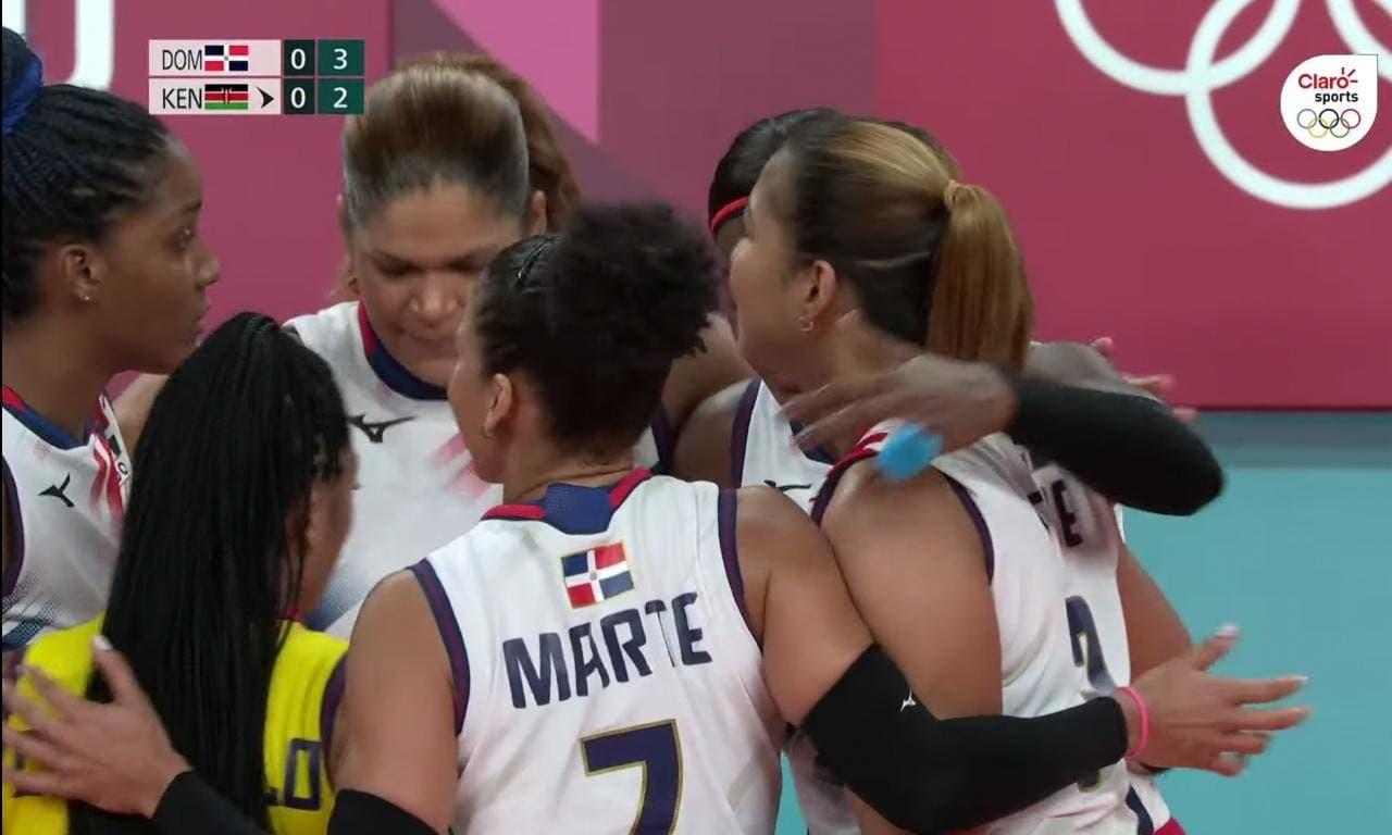 Reinas del Caribe consiguen primera victoria en los Juegos Olímpicos de Tokio