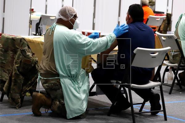 Puerto Rico lidera vacunaciones contra covid-19 en EE.UU. y sus territorios