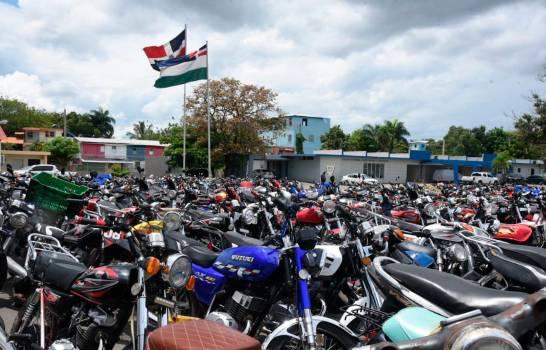 Autoridades entregarán motocicletas retenidas en el Canódromo a sus propietarios