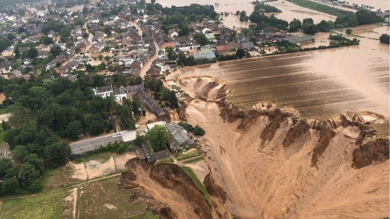 Al menos 120 muertos y más de 1.000 desaparecidos en las «catastróficas» inundaciones en Alemania y Bélgica