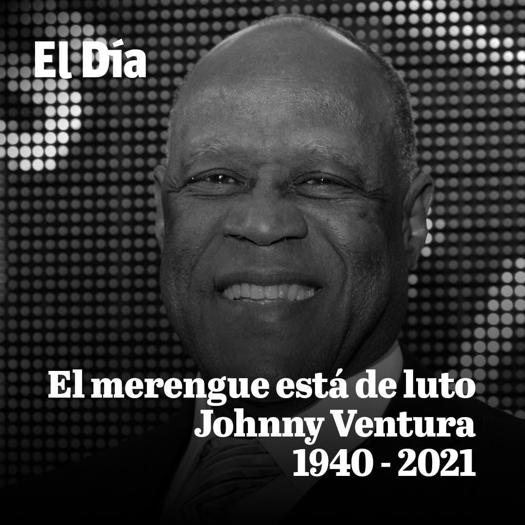 Fallece el merenguero Johnny Ventura