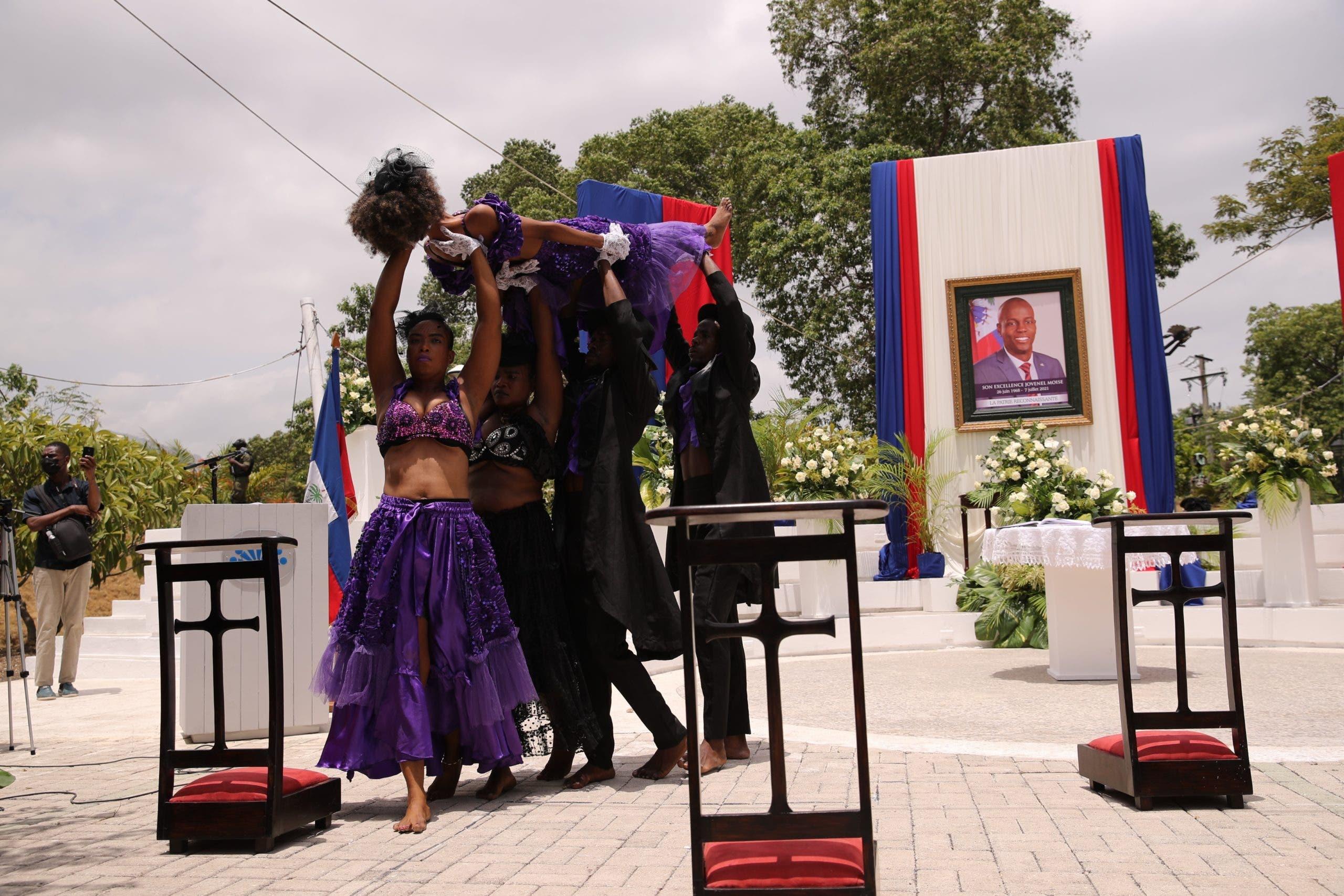 Gobierno haitiano rinde homenaje al asesinado presidente Jovenel Moise