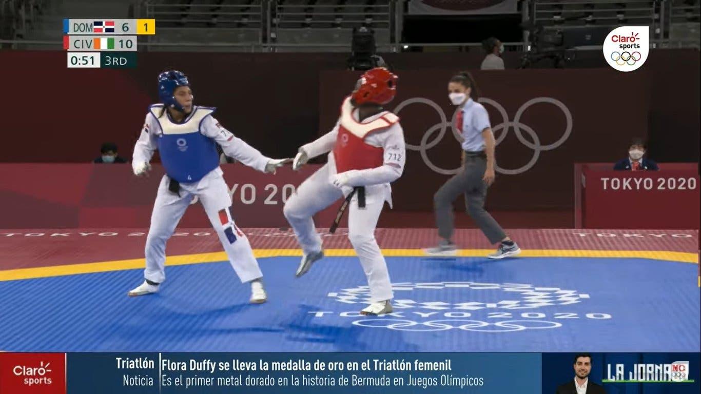 Katherine Rodríguez cae en repesca y queda sin opción a medalla
