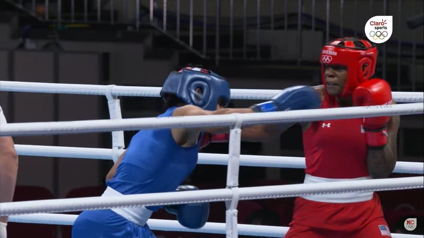 Boxeadora María Moronta pierde ante Oshae Jones en cuartos de final