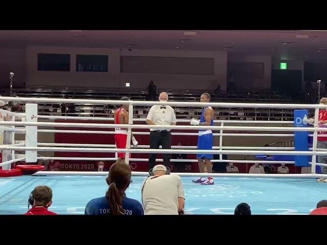 El dominicano De la Cruz y el argentino Cuello avanzan en el boxeo olímpico