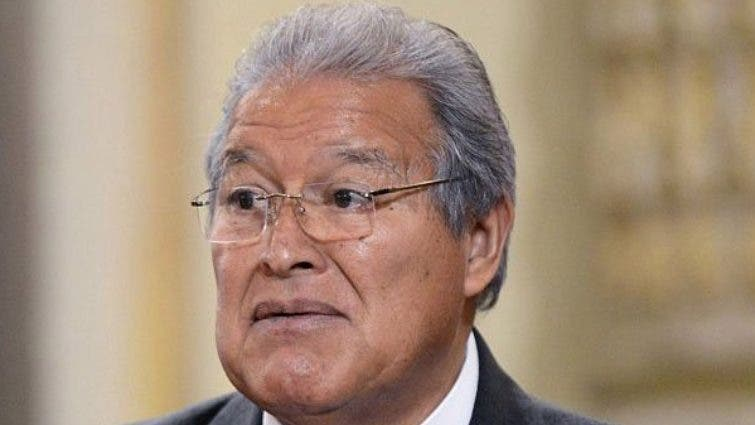 Expresidente Sánchez Cerén en Nicaragua