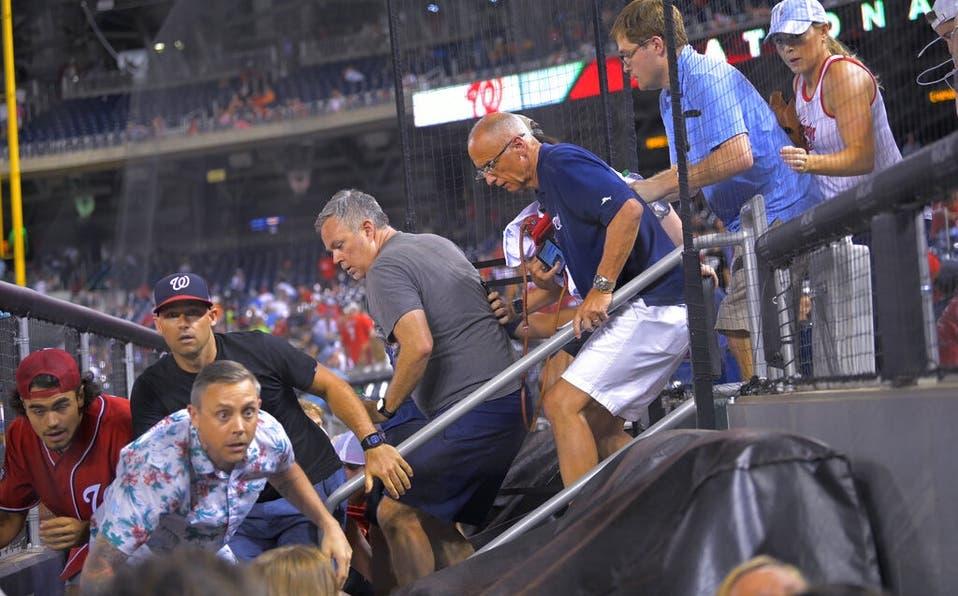Cuatro heridos en tiroteo fuera del estadio en partido entre Padres y Nacionales