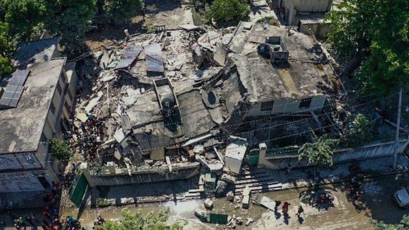 Terremoto: la comunidad internacional promete acudir en ayuda de Haití