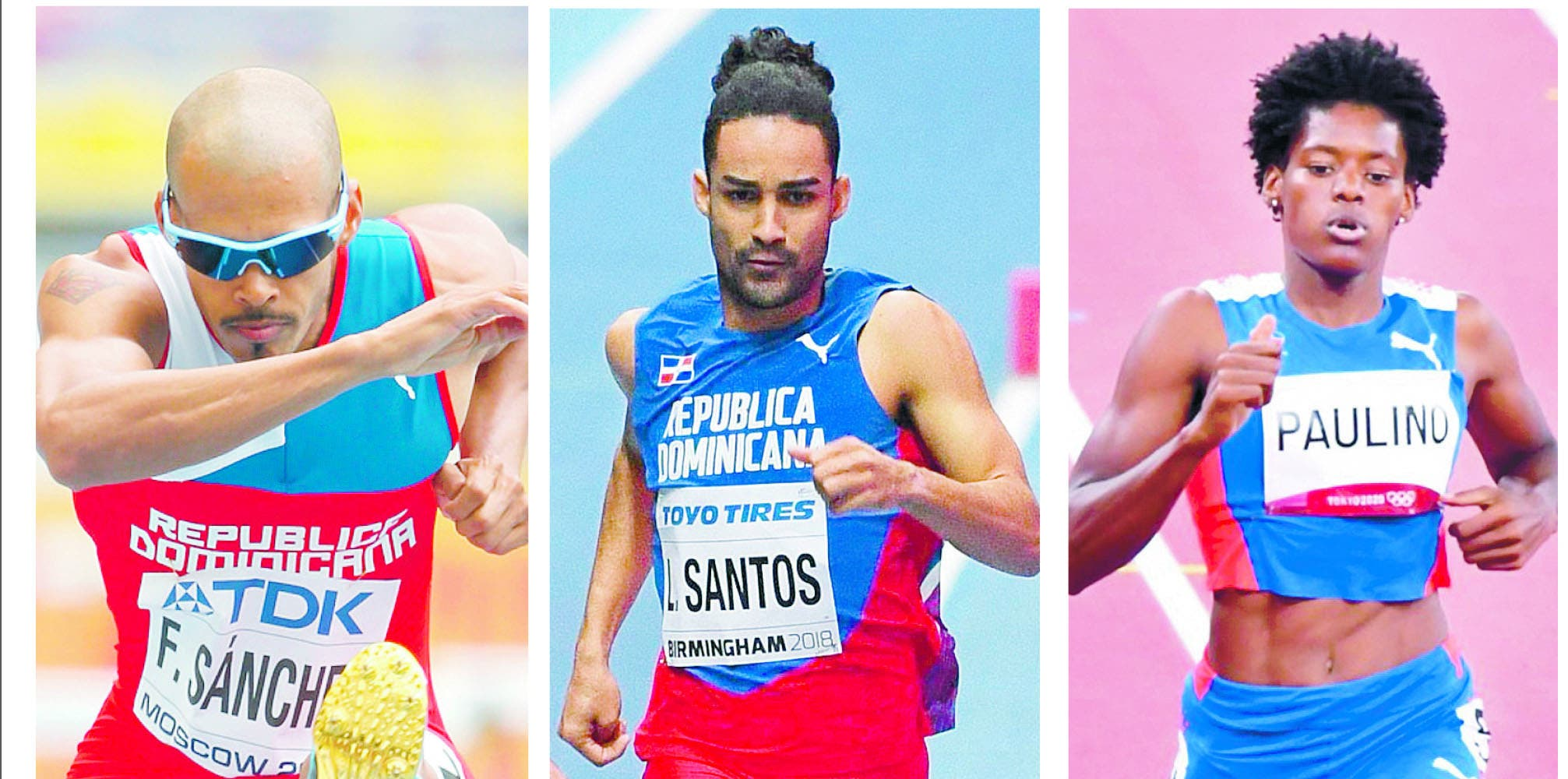 Atletismo marca ritmo deportes olímpicos RD