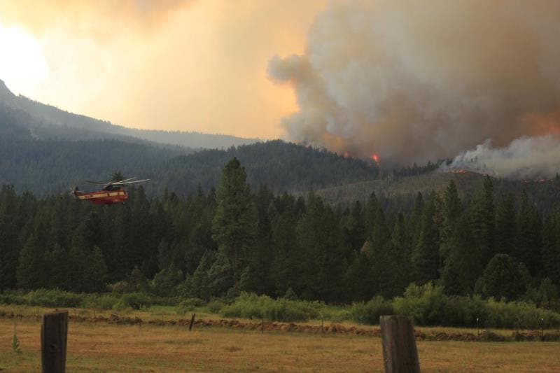Al menos ocho desaparecidos en zona afectada por enorme incendio en California