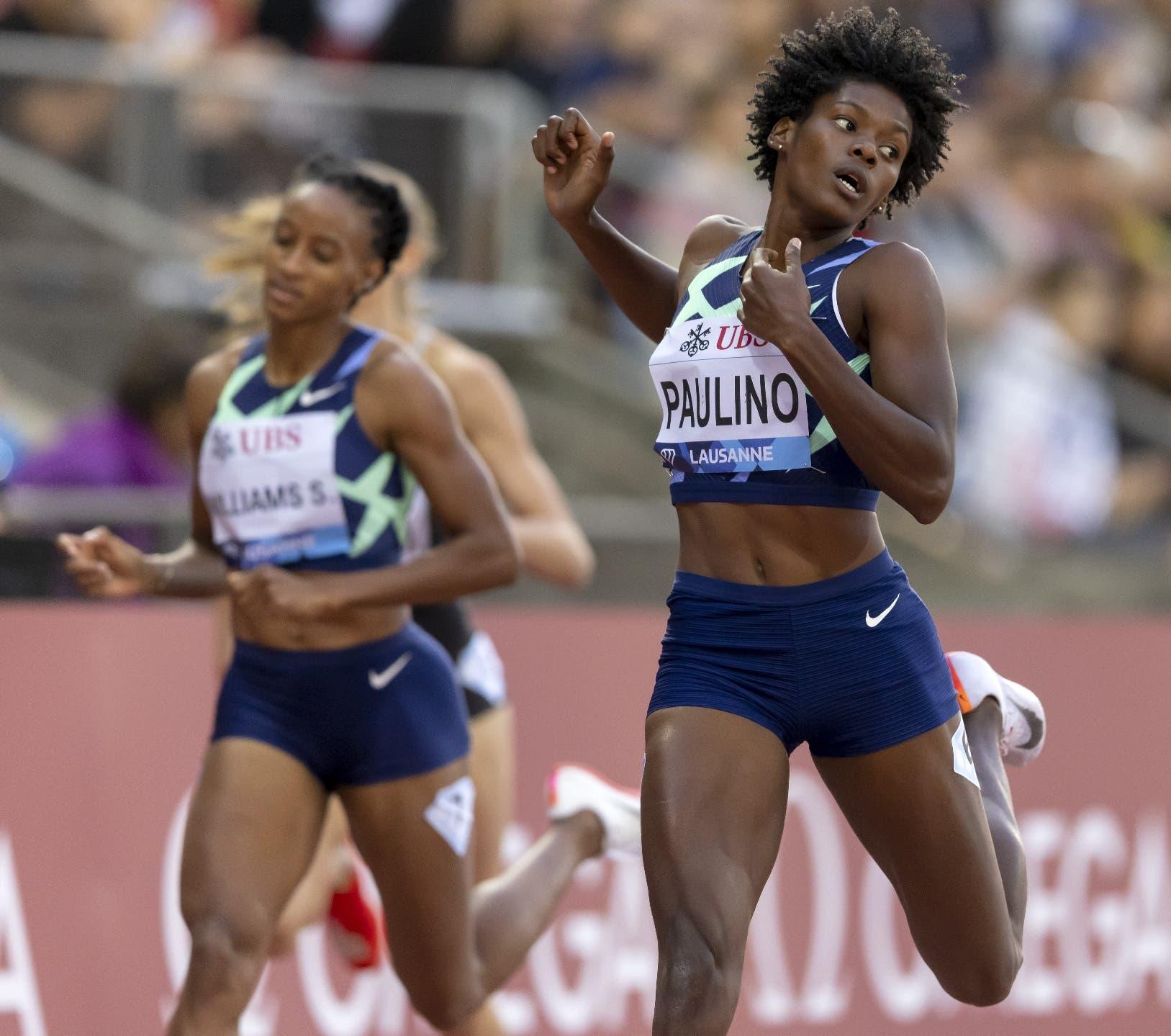 Nadie pudo en París con la atleta dominicana Marileidy Paulino