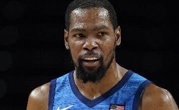 Kevin Durant pone EU  camino a su  tercer oro olímpico
