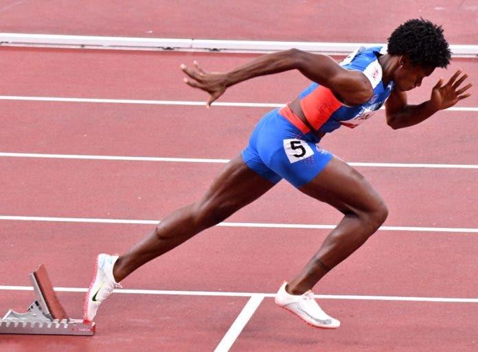 Marileidy Paulino se impone en los 400 metros en Liga de Diamante