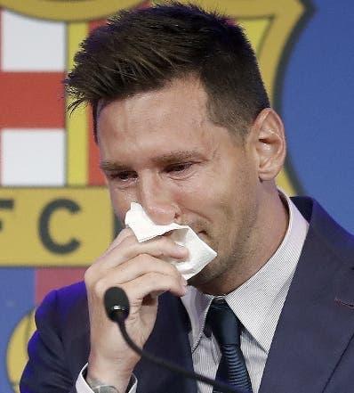 Lionel Messi  pactó con el París Saint-Germain