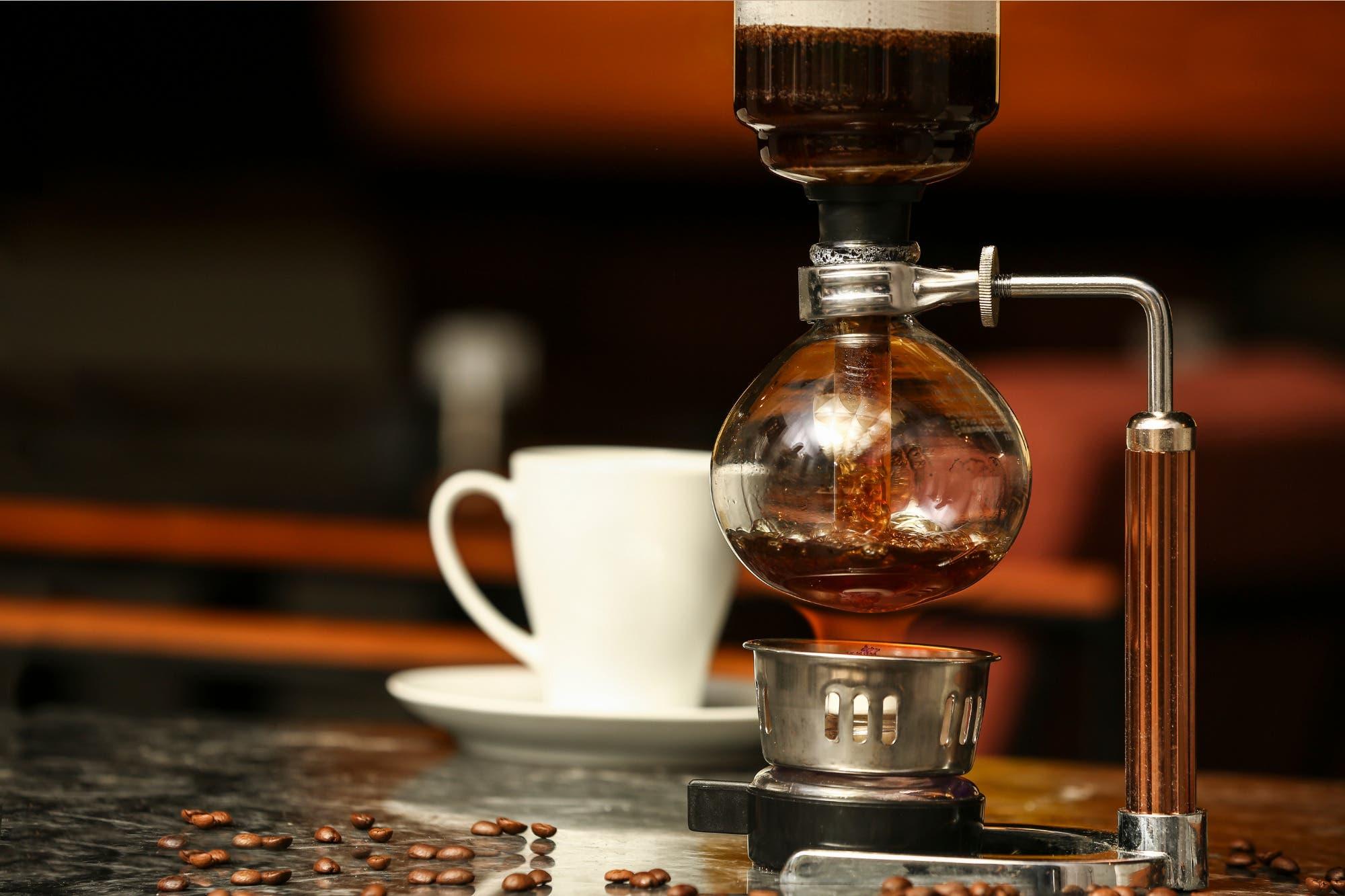 El Sifón, un peculiar método de preparación del café