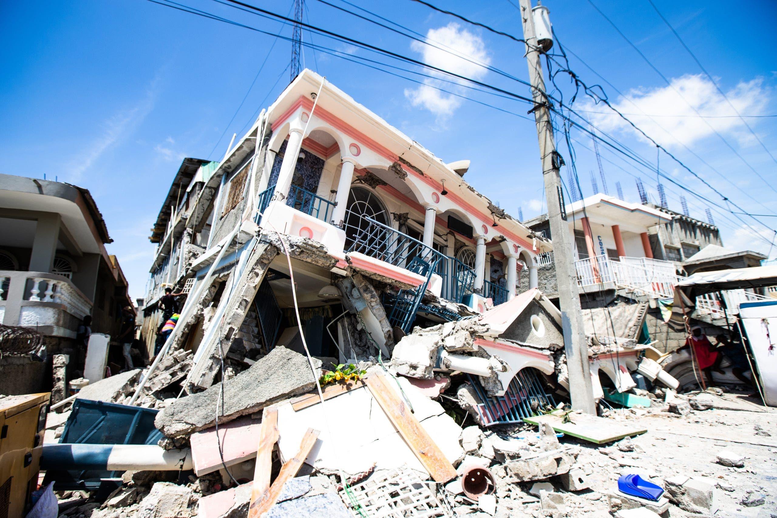 Terremoto de 7,2 grados sacude Haití en medio de crisis