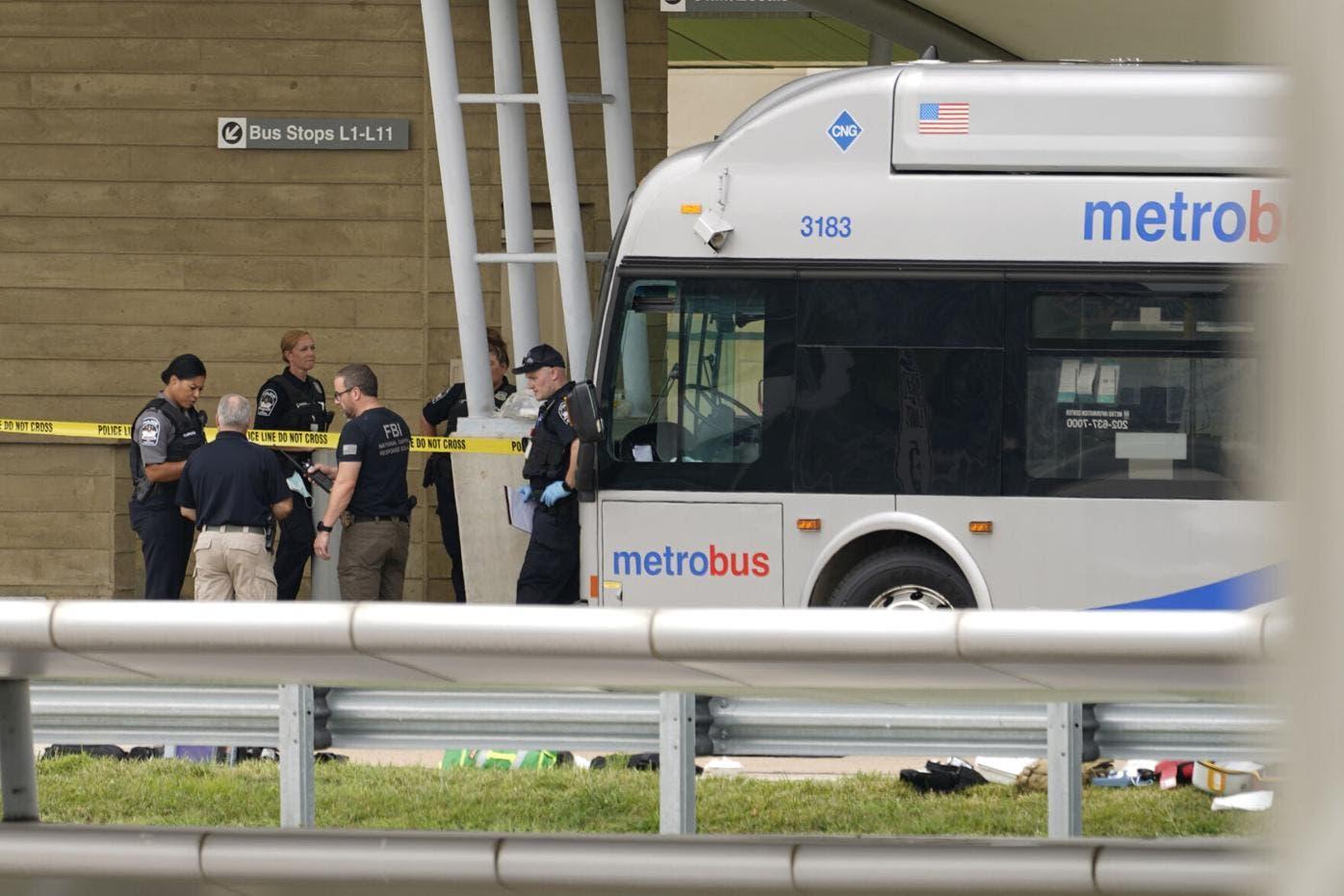 Dos muertos en hechos de violencia cerca del Pentágono