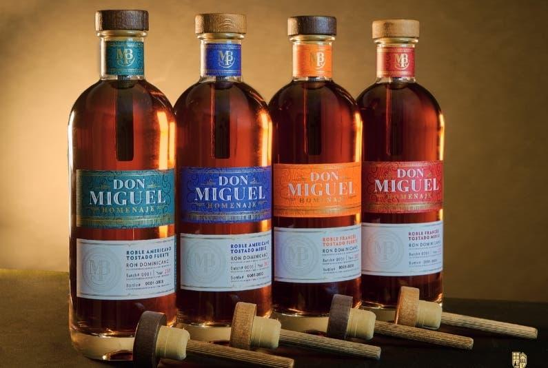 Ron Don Miguel saca  bebida ultra premium