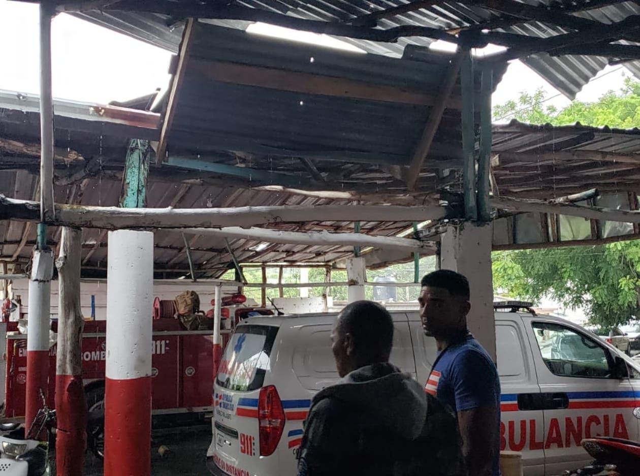 Los bomberos de RD están de auxilio antes de socorrer a las comunidades