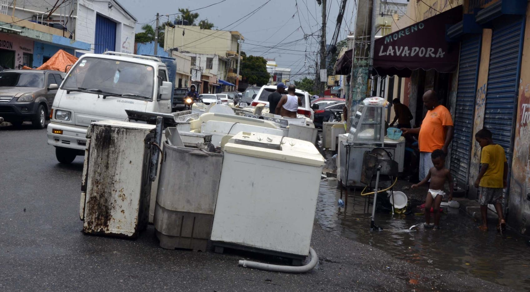 Desorden en calles de sectores populares se vuelve más agudo