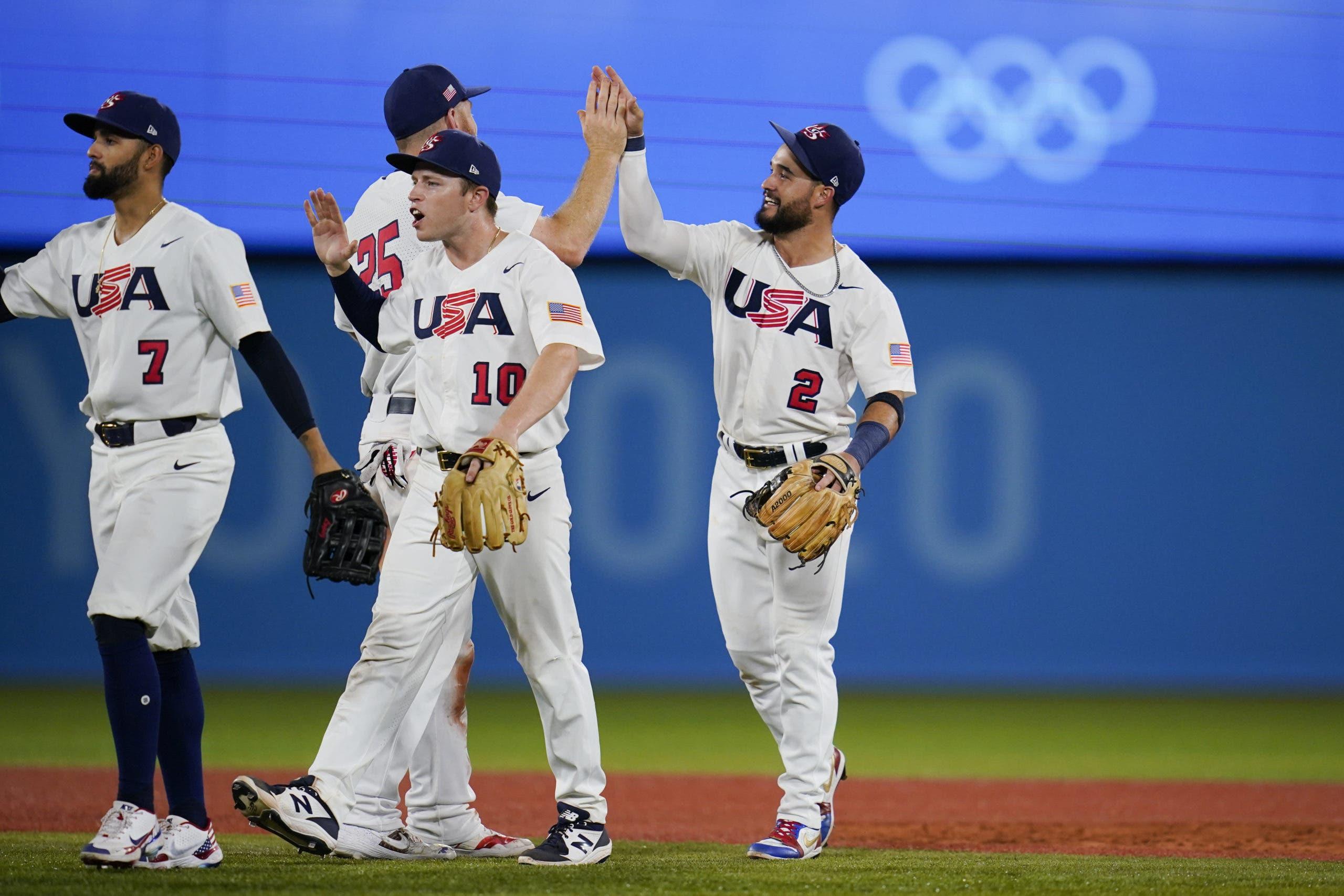 EEUU avanza a final en béisbol, Álvarez suma nueva medalla