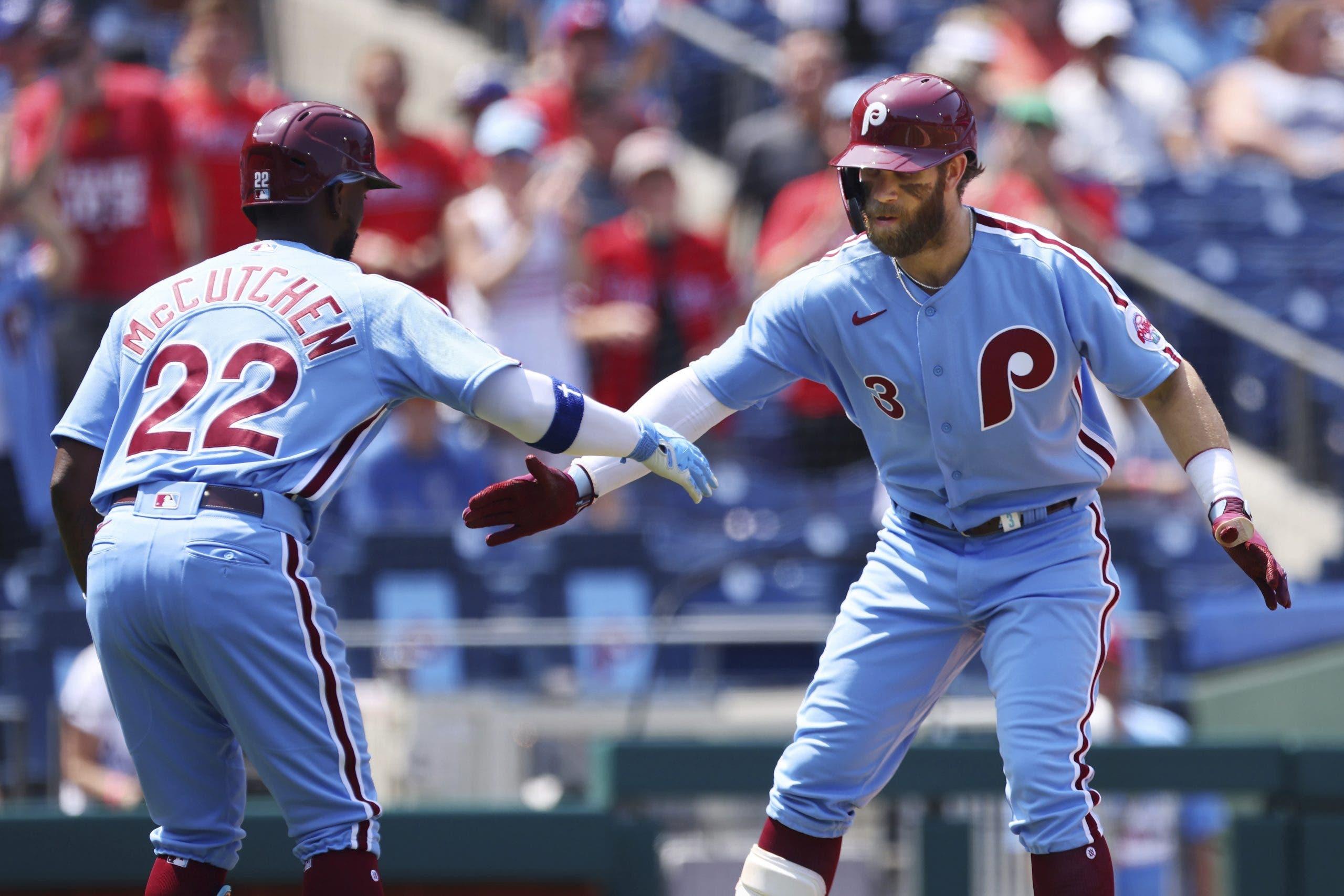 Los Filis, con Bryce Harper de protagonista, evitan barrida ante los Dodgers